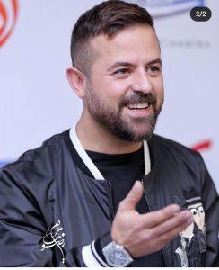 هومن سیدی از بازیگران مرد ایرانی بالای 40 سال