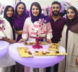 تولد فاطمه گودرزی در کنار خانواده اش