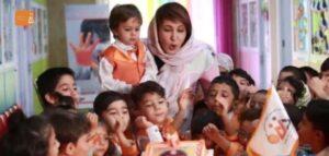 تولد فاطمه گودرزی در مجمع کودکان