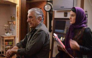 رضا کیانیان و فاطمه گودرزی در فیلم سایه