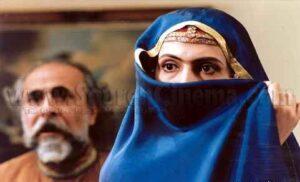 فاطمه گودرزی و سعید امیرسلیمانی در فیلم جنگجوی پیروز
