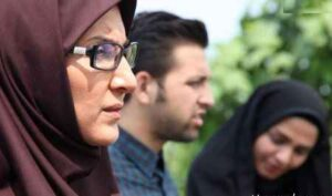 فاطمه گودرزی و محسن افشانی و سیما خضر آبادی در جاده چالوس