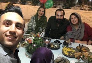 شهره سلطانی و همسرش در جشن تولد 55 سالگی فاطمه گودرزی