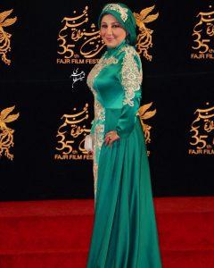 بهنوش بختیاری با لباس جنجالی در جشنواره فجر از بازیگران زن دهه 50
