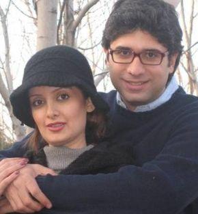 سمیرا سیاح بی حجاب با همسرش