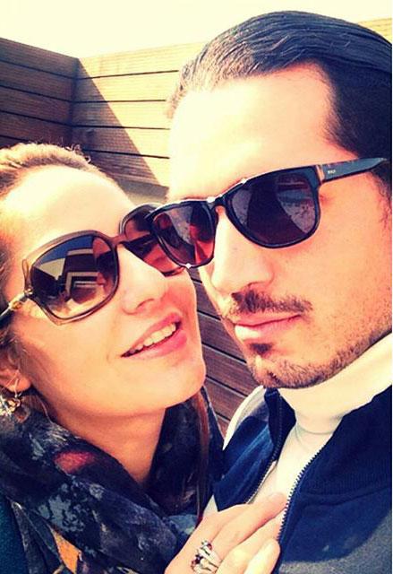 مهناز افشار و همسرش با عینک آفتابی - مهناز افشار عروس شد