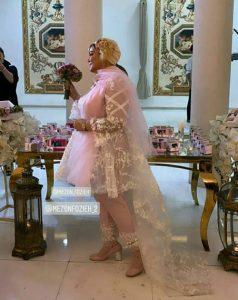 لباس خاص بهاره رهنما در سالگرد ازدواجش