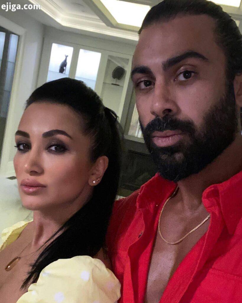 روناک یونسی بی حجاب با همسرش محسن میری و
