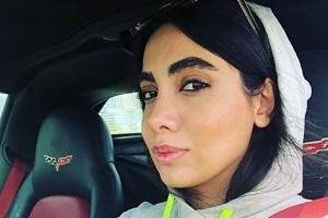 الهه فرشچی بی حجاب در ماشین