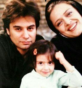 عکس قدیمی بهاره رهنما و پیمان قاسمخانی و دخترشان پریا