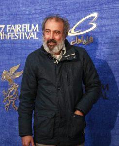 تیپ مشکی سیامک صفری در جشنواره فجر