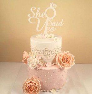 کیک نامزدی بهاره رهنما