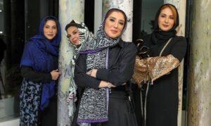 حضور فاطمه گودرزی در شام ایرانی