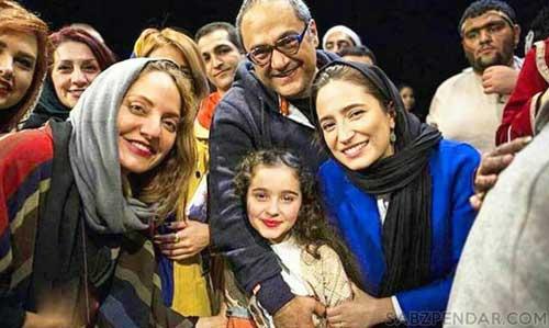 مانیا علیجانی و رامبد جوان و نگار جواهریان و مهناز افشار