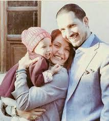 مهناز افشار با همسر و دخترش - مهناز افشار عروس شد