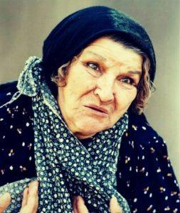گریم پروین سلیمانی در فیلم از بازیگران متولد ماه خرداد
