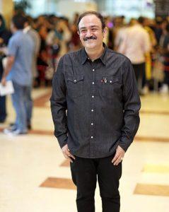 مهران غفوریان از بازیگران مرد ایرانی بالای 40 سال