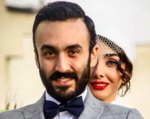 عکس ازدواج پویان گنجی (پسر فاطمه گودرزی) با دریا دشتی