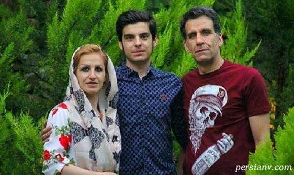 مانی رحمانی و پدر و مادرش