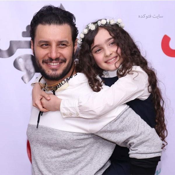 مانیا علیجانی و جواد عزتی