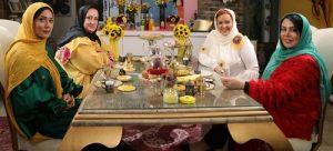 بهاره رهنما در شام ایرانی