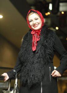 تیپ مشکی ملیکا زارعی