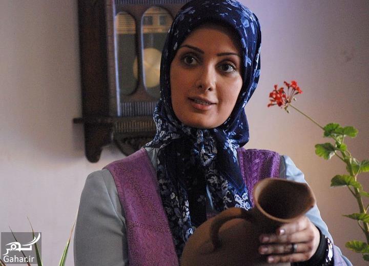 سمیرا سیاح با روسری آبی - سمیرا سیاح بی حجاب