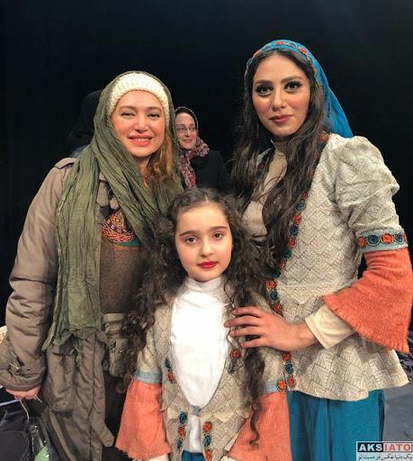 مانیا علیجانی و مونا فرجاد و صبا کمالی