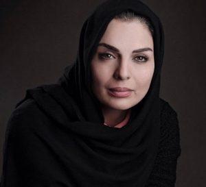 تیپ مشکی الیزابت امینی از بازیگران زن دهه 50