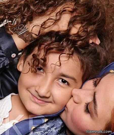 آنا نعمتی و دخترش رایکا - طلاق ابوالفضل پور عرب