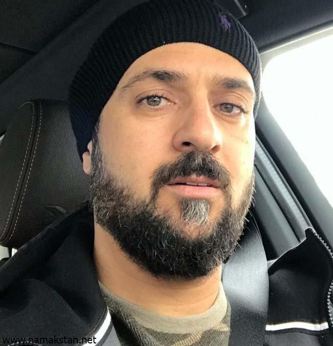 احمد مهرانفر با کلاه - چشمان احمد مهرانفر