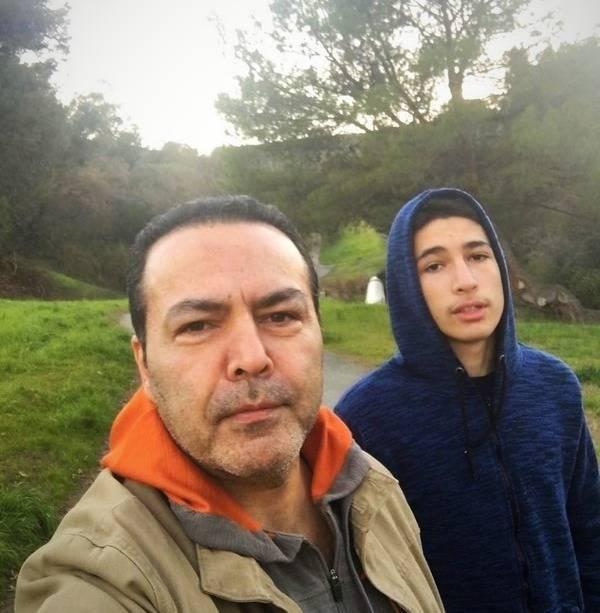 فریبرز عرب نیا و پسرش جانیار - طلاق فریبرز عرب نیا