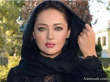 نیکی کریمی با شال مشکی - شباهت فریدا و نیکی کریمی