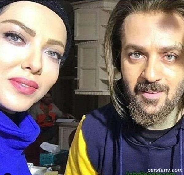احمد مهرانفر با لیندا کیانی - چشمان احمد مهرانفر