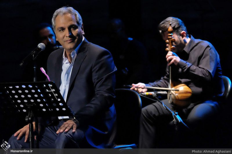 مهران میدیری در کنسرت - خوانندگی مهران مدیری