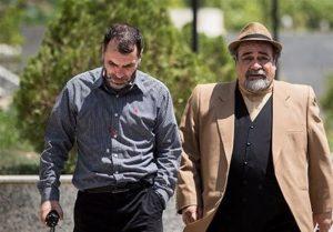 پشت صحنه سریال دادستان با حضور محمدرضا شریفی نیا و ده نمکی