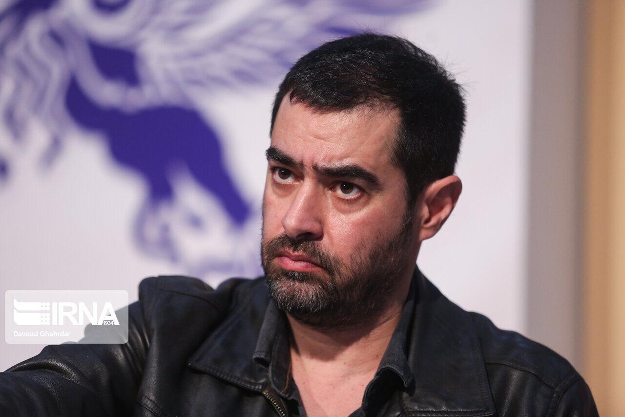 شهاب حسینی با کت چرم مشکی - آهنگ شهاب حسینی
