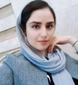 هانیه غلامی از بازیگران زن متولد دهه 70