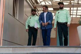 صحنه ای از سریال دادستان