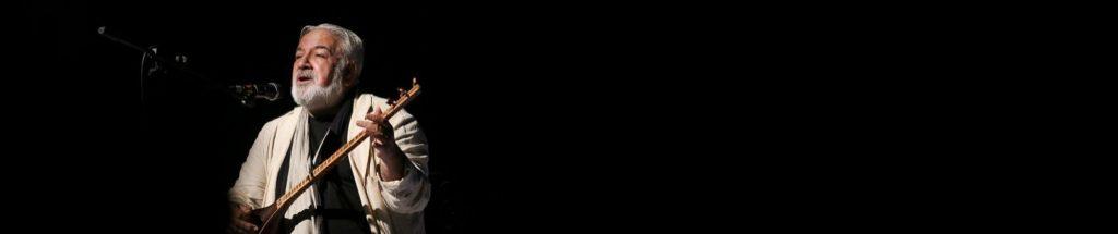 رسول نجفیان با لباس سفید - خوانندگی رسول نجفیان