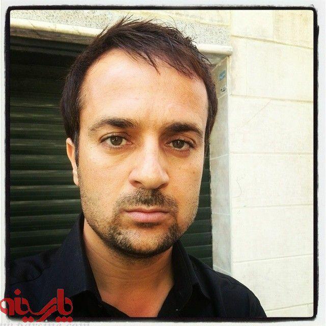 احمد مهرانفر با لباس مشکی - چشمان احمد مهرانفر
