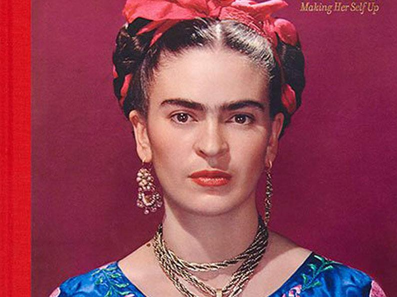 فریدا کالو با لباس آبی - شباهت فریدا و نیکی کریمی
