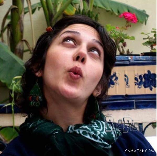 زهرا امیرابراهیمی بی حجاب با دستمال گردن سبز