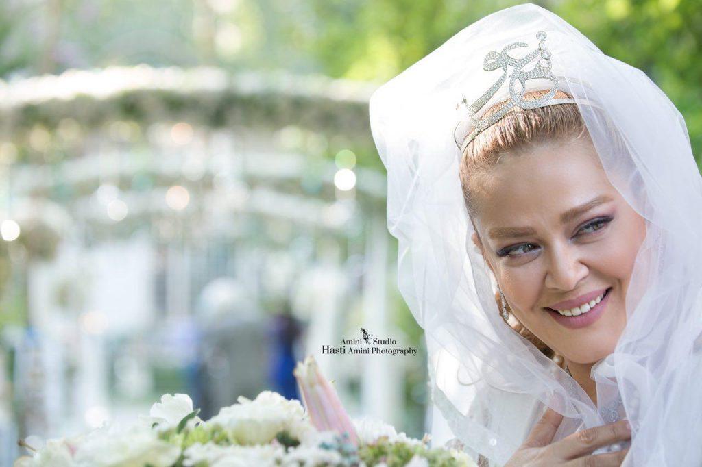 بهاره رهنما با لباس عروسی - مهریه بهاره رهنما