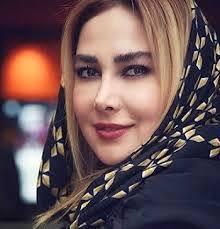 آنا نعمتی با روسری گلدار - طلاق ابوالفضل پور عرب