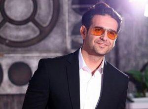 امیرحسین آرمان از بازیگران مرد ایرانی با عینک