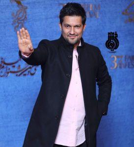 حامد بهداد از بازیگران مرد ایرانی با کت شلوار