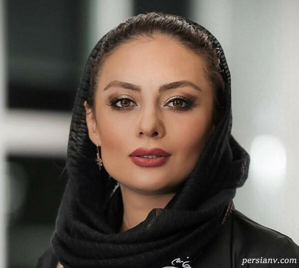 یکتا ناصر با شال مشکی - شباهت یکتا ناصر و سوفیا لورن