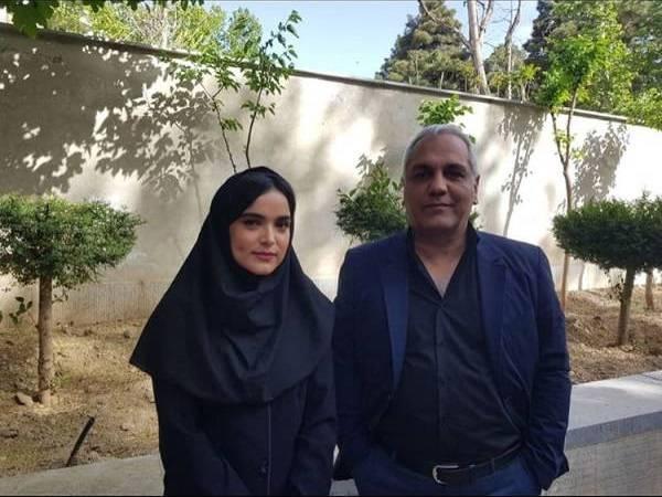 سارا باقری بازیگر گیلانی با مهران مدیری