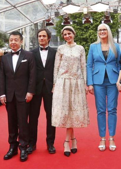 لیلا حاتمی جشنواره کن با لباس محلسی